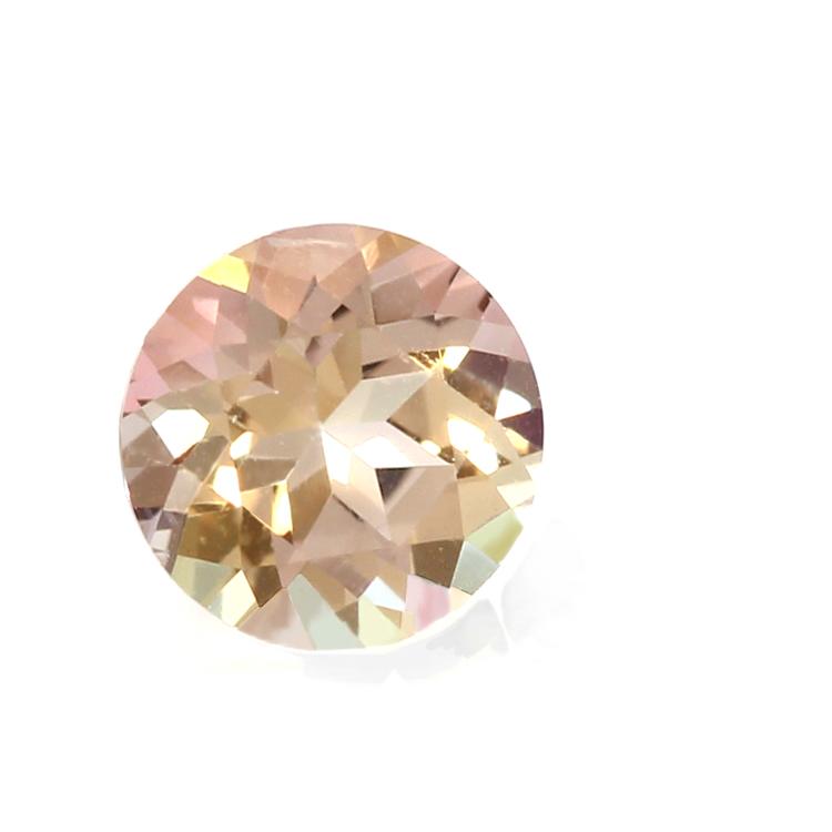 ミスティローズトパーズ ピアス ゴールド・ロゼシャルム 10K K10 10金 レディース バイカラートパーズ 11月の誕生石 華奢 シンプル 高品質 スタッドピアス 一粒ピアス ジュエリー ブランド 宝石