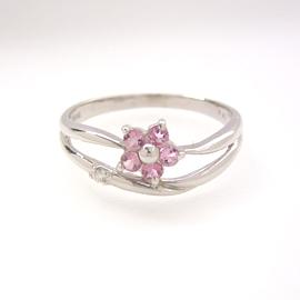 ピンクトルマリン ダイヤモンドリング レディース 指輪・セリレア 華奢 シンプル ファッションリング 可愛い ゆびわ ジュエリー ブランド 宝石 おしゃれ