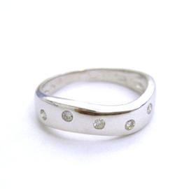 0.1ctダイヤモンド ゴールド リング レディース 指輪・ポルカドット ピンキーリング対応 ファランジリング ミディリング 関節リング 華奢 シンプル ファッションリング 可愛い ゆびわ ジュエリー ブランド 宝石 おしゃれ