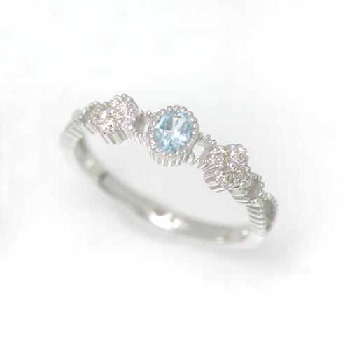 <title>アクアマリン ダイヤモンドリング レディース 指輪 ファッションリング ラディアール 華奢 シンプル 可愛い ゆびわ ジュエリー 販売期間 限定のお得なタイムセール ブランド 宝石 おしゃれ</title>