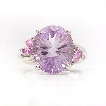 ライトアメジスト ホワイトゴールド リング レディース 指輪・ウィステリアッサ 誕生日プレゼント 華奢 シンプル ファッションリング 可愛い ゆびわ ジュエリー ブランド 宝石 おしゃれ