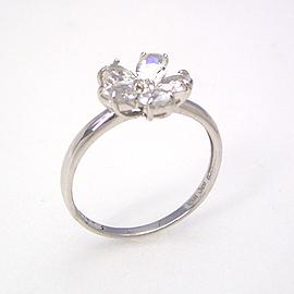 ブルームーンストーン 6月誕生石リング ・ホワイトゴールド リング レディース 指輪・セレンフルール 華奢 シンプル ファッションリング 可愛い ゆびわ ジュエリー ブランド 宝石 おしゃれ