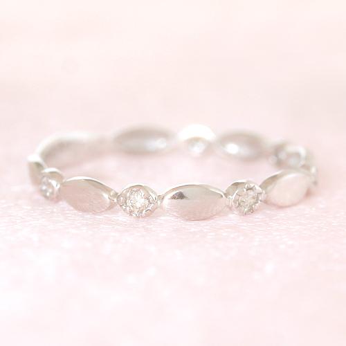 ダイヤモン ゴールド リング レディース 指輪・プロンプティー 華奢 シンプル ファッションリング 可愛い ゆびわ ジュエリー ブランド 宝石 おしゃれ