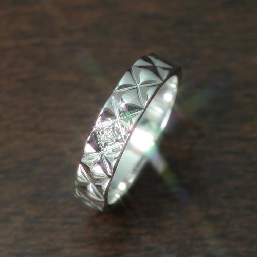 【ペアリング 指輪】ダイヤモンド ホワイトゴールド リング 指輪・ルティッシュ(レディース) ファッションリング 可愛い ゆびわ ジュエリー ブランド 宝石 おしゃれ
