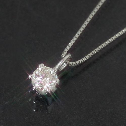 【ホワイトゴールド2本のセット】一粒ダイヤモンド K10 ホワイトゴールドネックレス レディース ペンダント・ディアンナ シンプル プレゼント ギフト 母へ 彼女へ 10K 10金 誕生日プレゼント 華奢 シンプル ジュエリー ブランド 宝石