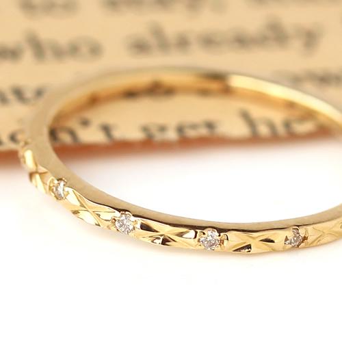 指輪 リング レディース ジュエリー・サリーシャ ダイヤモンド ゴールド ピンキーリング ピンクゴールド ホワイトゴールド 大人 誕生日プレゼント 女性 かわいいリング 華奢 クリスマス ブランド 宝石 おしゃれ