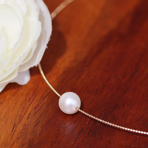 あこや真珠のチョーカー風ネックレス