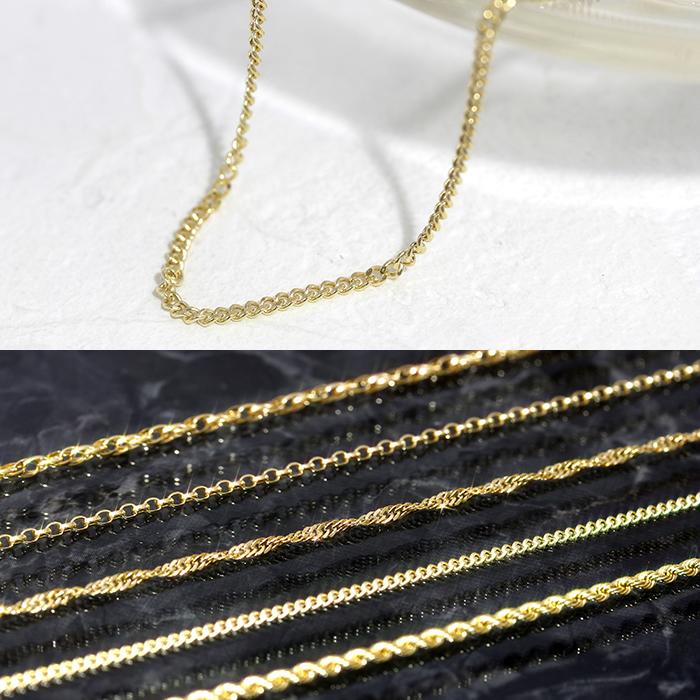 【こちらはキヘイチェーンのページです】エスカルゴ キヘイ ロープ スクリュー K18 ゴールド レディース ネックレス・ベンティ チェーンネックレス ゴージャス 上品 中空 切れない エレガント 18K 18金 華奢 シンプル ジュエリー 女性 誕生日プ ブランド 宝石