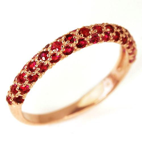 0.5ctピジョンブラッドルビー 7月誕生石リング K10 リング レディース 指輪・チェリアス ピンクゴールド ホワイトゴールド イエローゴールド 指輪 10金 10K 華奢 シンプル ファッションリング 可愛い ゆびわ ジュエリ ブランド 宝石 おしゃれ