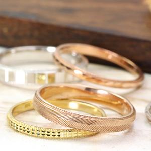 【スーパーセール10%OFF】【ワイドアーム】ゴールド リング レディース 指輪・アルディアーナ 重ねづけ/重ね着けにもぴったり!選べるカットリング レディース 指輪 華奢 シンプル ファッションリング 可愛い ゆびわ ジュエリー ブランド