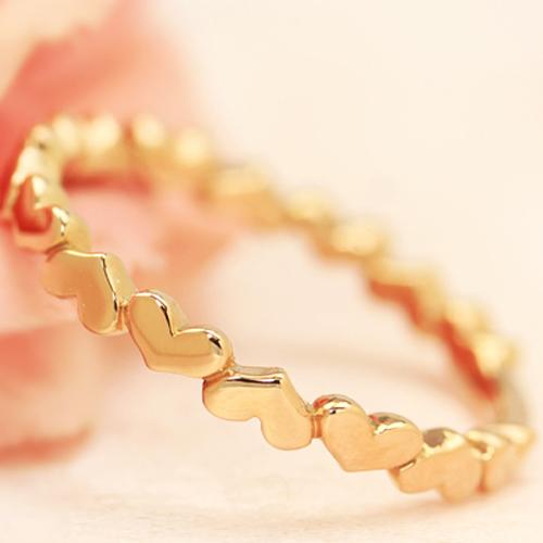 K10ゴールド リング レディース 指輪・リティア 華奢 シンプル ファッションリング 可愛い ゆびわ ジュエリー ブランド 宝石 おしゃれ