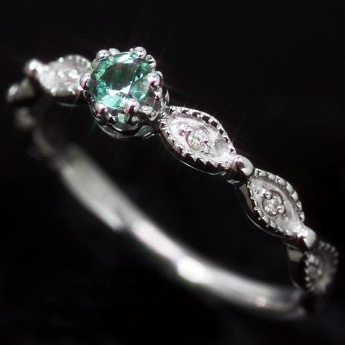 简单的科学家 * 纤细,翡翠矿山,巴西生产翠绿宝石钻石克拉黄金女士戒指