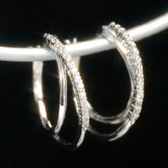 0 2ctダイヤモンド×ホワイトゴールドピアス・リジーこちらはお届けまでに3ヶ月程度お時間がかかりますUMVpLqGSz
