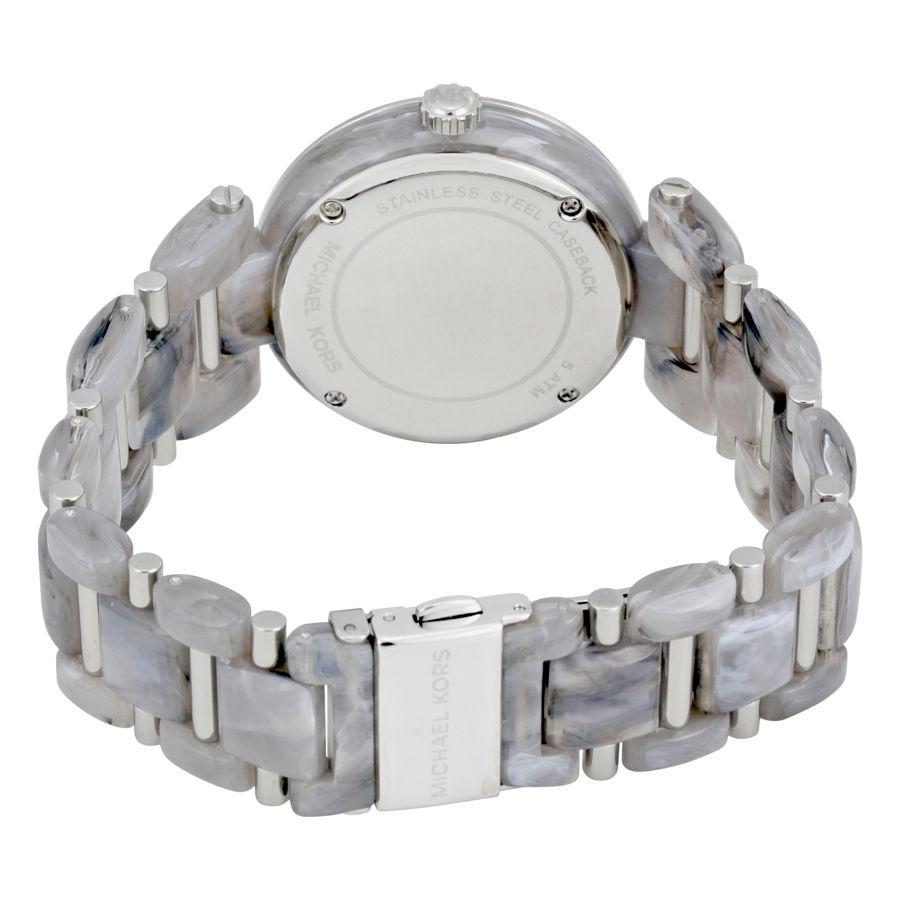 マイケルコース Michael Kors Women's Delray Watch - Silver MK4320 レディース腕時計