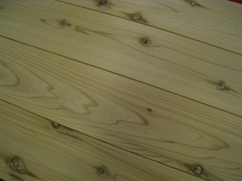 杉(スギ)フローリング材14枚入(1坪)【長さ1.82m×厚さ1.2cm×巾13.0cm】無垢材  人工乾燥材群馬県産木材 フローロング木材
