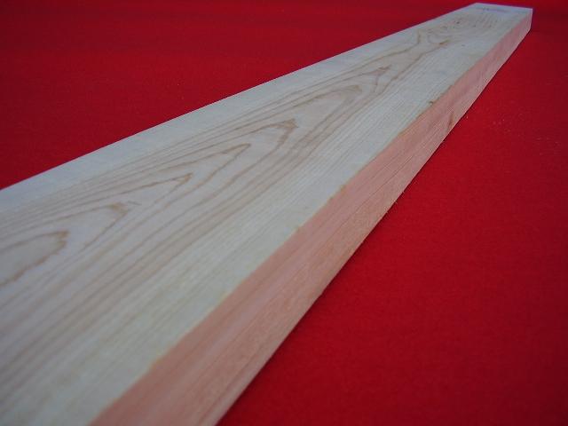 檜(桧,ヒノキ)板材【長さ300cm×厚さ4.5cm×巾12.0cm】無垢材 1面~3面無節 乾燥(KD)木材