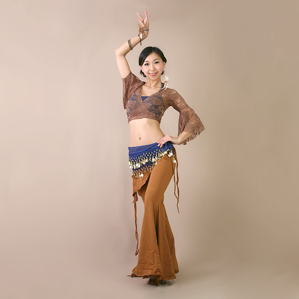 Belly dancing フレアパンツ election eat 8 color S/M/L