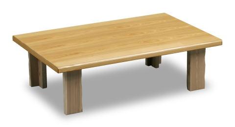 和風テーブル みずほII 幅120cm【smtb-KD】