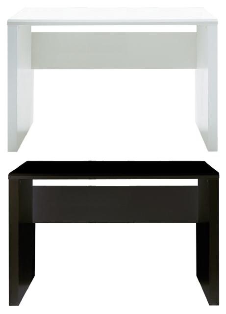 パソコンデスク ワークデスク テーブル G-RAIN 幅120cm×奥行60cm シンプル コード収納 ガラス ホワイト 白 ブラック 黒 木目 ハイグロス UV塗装【smtb-KD】