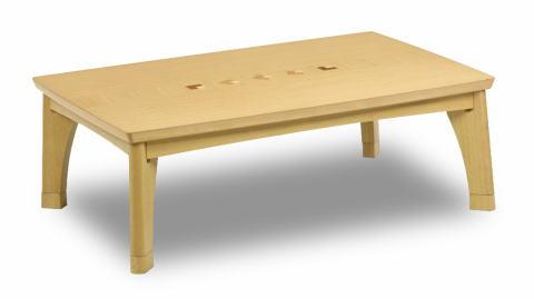 こたつ 家具調こたつ コタツ タント 長方形 幅105cm テーブル カジュアル 象嵌 おしゃれ アクセント ワンポイント リビング ナチュラル 天然木 オーク【smtb-KD】