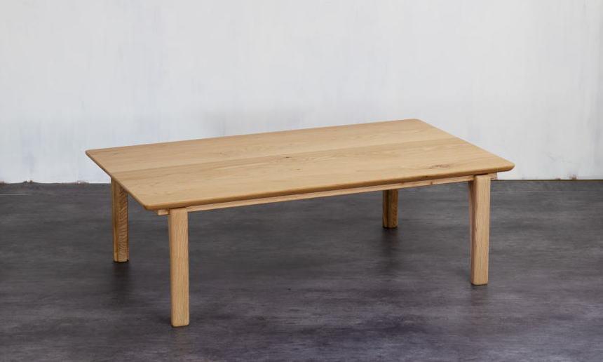 こたつ 家具調こたつ コタツ モア MOA 幅120cm リビング テーブル シンプル ナチュラル 天然木 オーク 国産 日本製【smtb-KD】【P5】