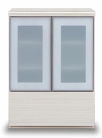 キャビネット 収納【smtb-KD】 サイドボード 引出し リビングボード デミオ DEMIO 幅60cm リビングボード 白木目柄 ホワイト 艶有り 開き戸 両開き 引出し 収納【smtb-KD】, アゲオシ:7ed34b0d --- officewill.xsrv.jp