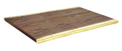 こたつ板 こたつ天板 ウォールナット 皮付き 長方形 120×80cm 天然木 自然風 シンプル 和 洋 ナチュラル 国産 日本製【smtb-KD】