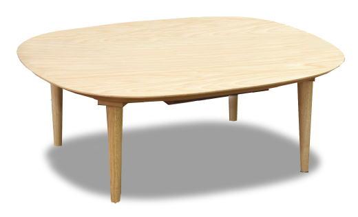 こたつ 家具調こたつ コタツ コリー 角丸 長方形 幅120cm 天然木 サクラ リビング ラウンド スマート 国産 日本製【smtb-KD】
