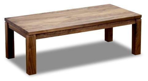 テーブル センターテーブル リビングテーブル 机 【レクト】 幅120×奥行60×高さ38cmサイズ 天然木 ウォールナット 無垢 リビング シンプル モダン 自然塗料 オイル仕上げ 手作り 国産 日本製【smtb-KD】