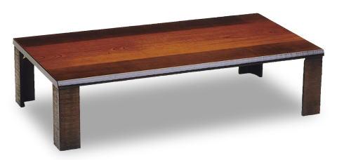 テーブル ローテーブル 座卓 軽量黒部 幅120cmサイズ 折りたたみ 軽い ブラウン 天然木 ケヤキ 国産 日本製【smtb-KD】