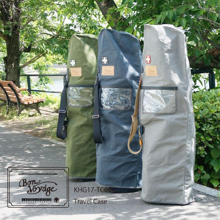 ◆新作◆【Kinosho Transit】【公式】《トラベルケース キャディバッグ用 帆布バッグ》Travel Case/ Bag/Canvas Bag木の庄帆布 木の庄 トランジット 日本製 Made in Japan帆布/帆布バッグ/帆布かばん/帆布カバン/国産