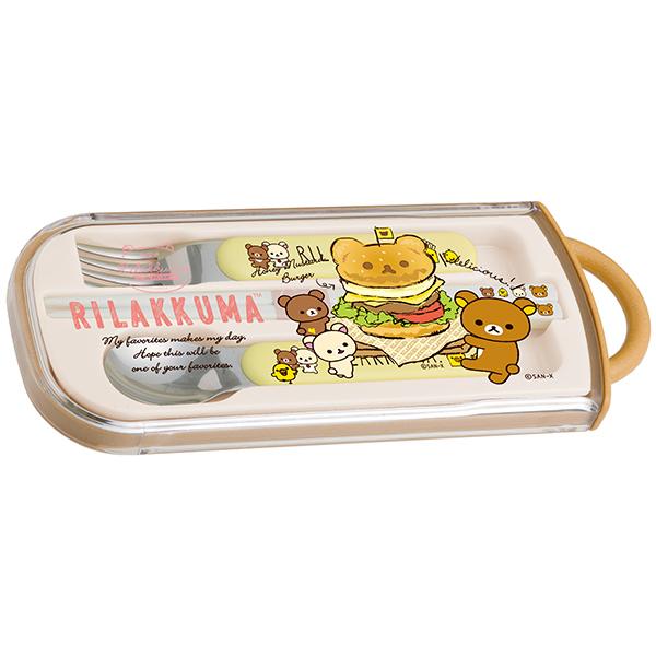 San-X リラックマ「ランチマーケット/トリオセット(ハンバーガー)(KY61501)」