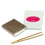 最高級・プラチナ箔「56mm角/100枚/竹箸(小)付」