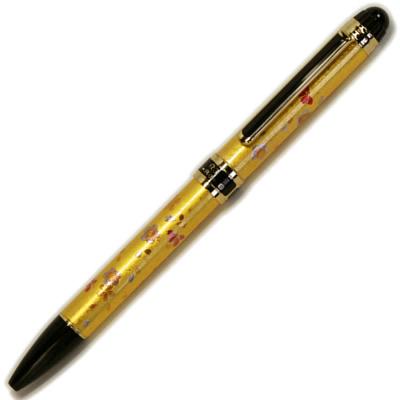 金箔貼二色ボールペン&シャープペン「桜」
