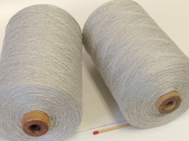 高級な 1ランク 2ランク上のシルク紬ならこれ 使ってみる価値大アリです 17 2シルク紬 うすグレー ディスカウント ほのかな光沢のある糸です 完成した作品に満足して頂けること請け合いです 上質な絹100%でしっとりやわらかく