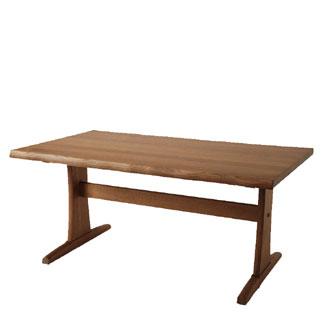 キツツキのマークの飛騨産業 木かげシリーズ FK363WP LDテーブル(W150) カンブリア宮殿