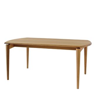 キツツキのマークの飛騨産業 SEOTO(セオト) KD346N・テーブル (ナラ材・ダイニングテーブルW180サイズ) カンブリア宮殿