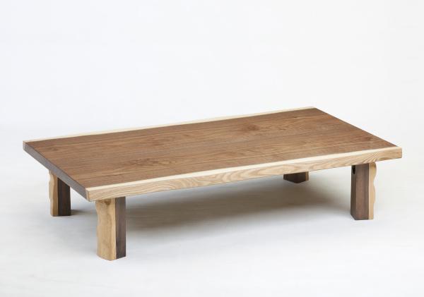 120幅 長方形タイプ 【アラベスク】 座卓 フロアテーブル 座卓 机 文机 ローテーブル ダイニングテーブル テーブル 和風テーブル 木製 天然 無垢