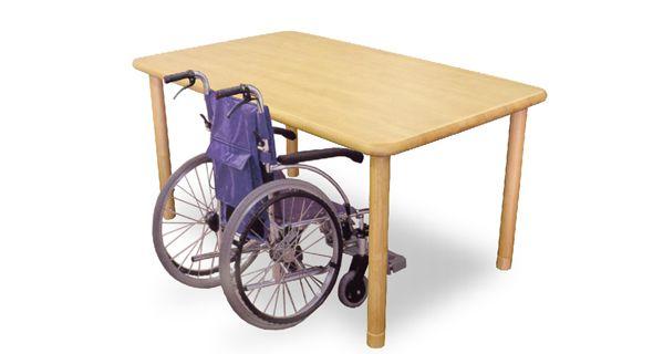 介護用テーブル(継ぎ脚タイプ) Care-TS1-18090-NA (サイズ:1800x900)