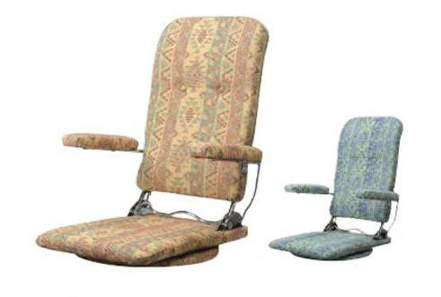 座椅子 MCRエスカ 1人掛けソファ カバー 腰痛対策 リクライニング コンパクト 折りたたみ 収納 ハイバック 腹筋 リラックス