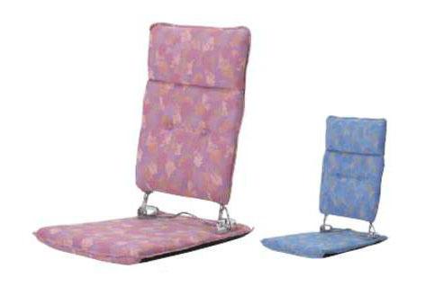 座椅子 P-70リット 1人掛けソファ カバー 腰痛対策 リクライニング コンパクト 折りたたみ 収納 ハイバック 腹筋 リラックス