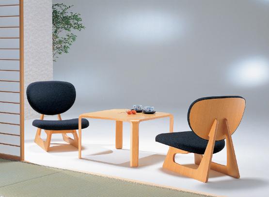 天童木工 低座椅子 『Teiza-isu』 張地:グレードB 『エヌシー』『ニューシャモア』 『シュプール』『パラガス』S-5016NA-ST