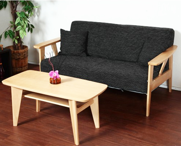 和洋のお部屋に合う2人掛け ソファー