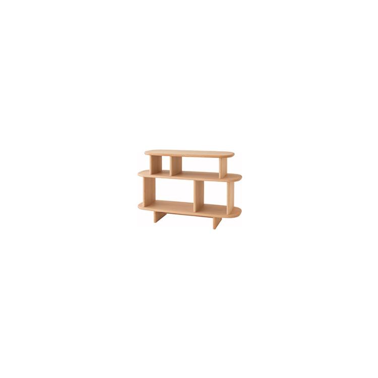 【11/4(月)20時~クーポン有】 【IB542B】W105×D35×H70cm オープンキャビネット baguette lb バケットエルビー 飛騨産業