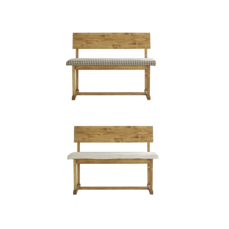 幅1000・幅1160×奥行き464×高さ750×SH450mm コロハ ベンチ coroha bench ノラ nora mam マム 関家具
