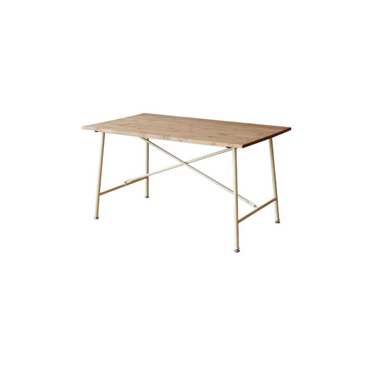 幅1300×奥行き750×高さ700mm Mace table130 メイス テーブル130 ノラ nora mam マム 関家具