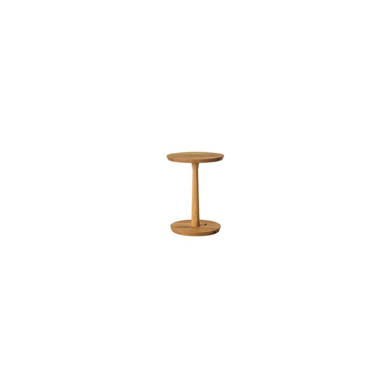 【SN670H】【φ39】サイドテーブル W39×D39×H52×T2.5cm 森のことば 飛騨産業
