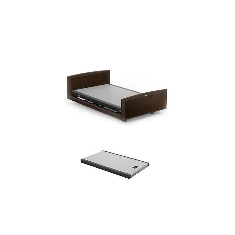 【3Mセミダブル2点セット】フレーム+マットレス カルムコア INTIME 1000 電動ベッド