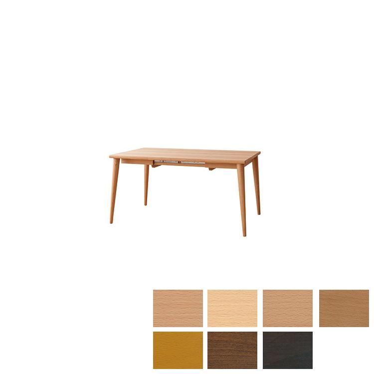 【SD394B】【85-140cm】エクステンションテーブル Standard Collection スタンダードコレクション 飛騨産業