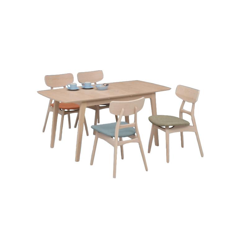 【11/4(月)20時~クーポン有】 【ロゼ120テーブル+UKDC-01×4脚】5点セット Select Dining Series